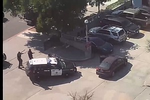 Agitated Woman With Guns Surrenders After Brief Standoff At SDPD Headquarters
