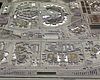 The Corcoran State Prison is shown in this unda...