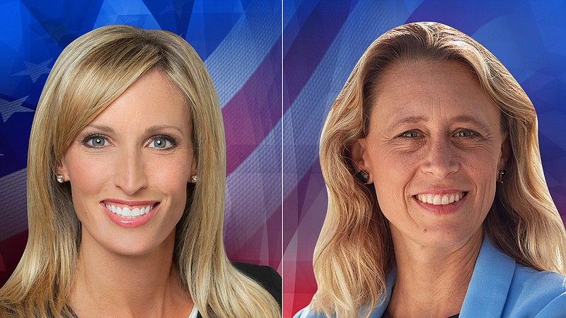 San Diego County District 3 supervisor candidates Kristin Gaspar and Terra La...