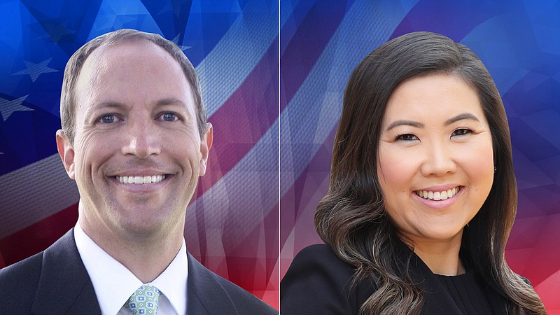 77th Assembly District candidates Brian Maienschein and June Cutter are pictu...