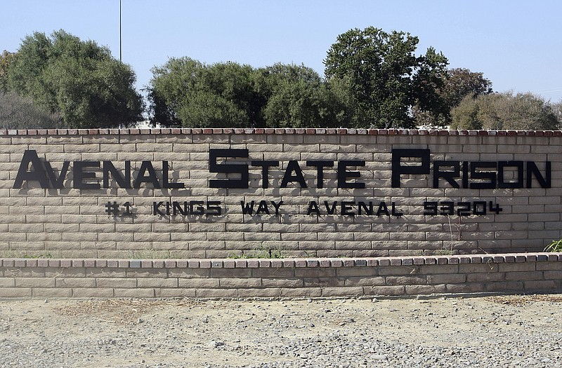 This undated file photo released by the Avenal State Prison public informatio...