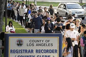 Photo for California Restores Some Ex-Felons' Voting Rights, Still Undecided On Underag...