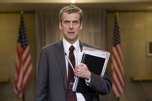 Peter Capaldi as Malcolm Tucker in Armando Iannucci's
