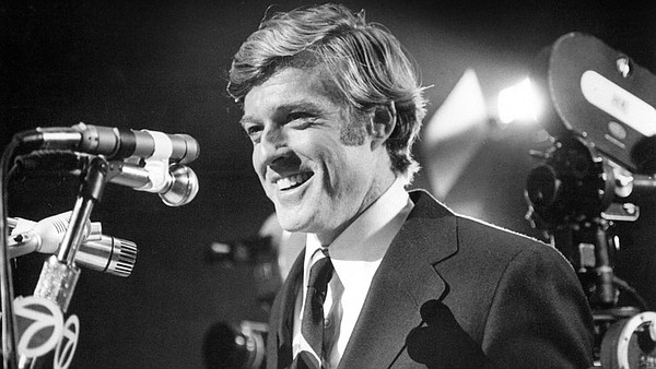 Robert Redford served up a Kennedyesque politician in Mic...