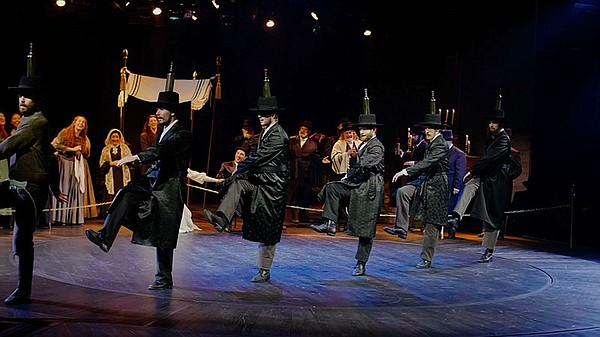 """A scene from """"Fiddler on the Roof."""""""