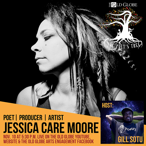 Jessica Care Moore is tonight's guest on The Poet's Tree.