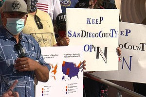 Photo for San Diego Business Owners Weigh Compliance With Closure Orders