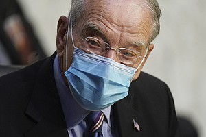 Photo for Sen. Chuck Grassley, 87, Says He Tested Positive For Coronavirus