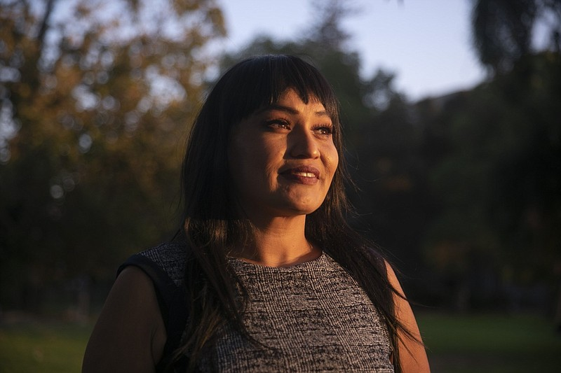 Nona Claypool, a third year student at UC Berkeley and transfer student coord...