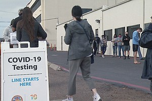 Holiday Travel Creating Long Lines At San Diego COVID-19 Testing Centers