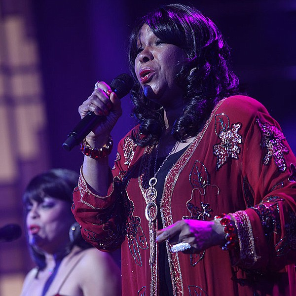 The Shirelles' singer Shirley Alston Reeves performs the ...