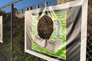 Photo for Artworks Vandalized In Local Outdoor Exhibition