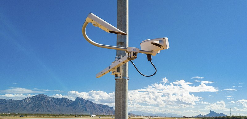 The ADOT Dust Detection and Warning System on Interstate 10 between Eloy and ...