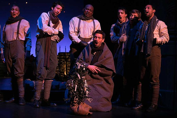 A photograph from the December 2018 production of San Die...
