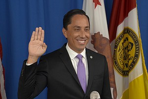Photo for Todd Gloria Sworn In As San Diego's 37th Mayor