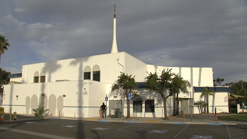 The Islamic Center of San Diego is shown in this photo from Dec. 10, 2020.