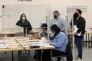 Photo for Recount Ends With No Changes To Vote Tally In Tight Santee City Council Race