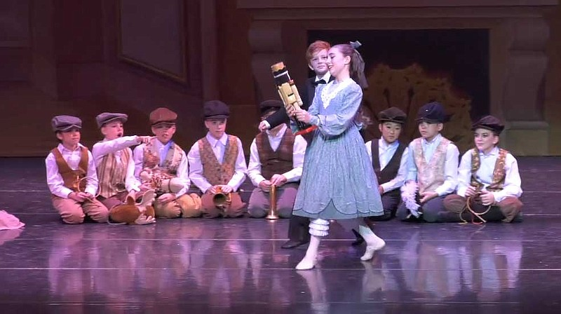 A video still from the Southern California Ballet's 2019 performance of