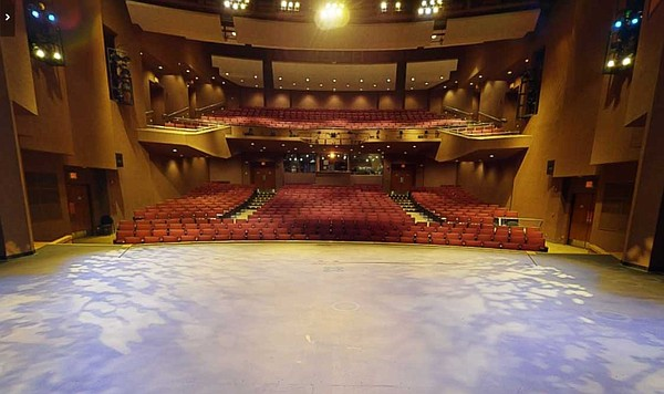 The virtual tour of the Poway Performing Ars Center allow...