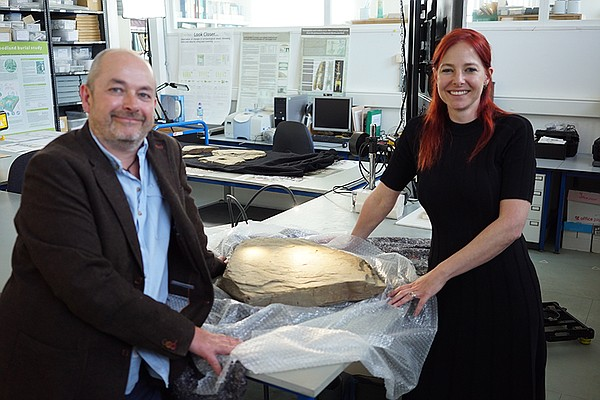 James Gossip and Alice Roberts use new archaeological dis...