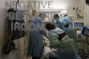 Photo for California Hospitals Discuss Rationing Care As Virus Surges