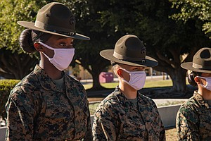 Photo for Marine Boot Camp In San Diego Ready For First Female Recruits