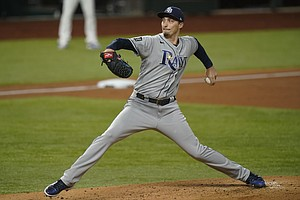 Photo for Source: Padres Have Deal In Place To Get Cy Young Winner Blake Snell From Rays