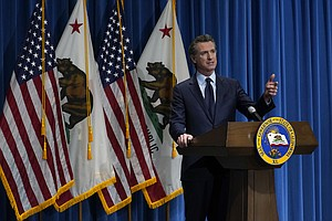 Photo for Newsom Sets New Tone For California, White House Partnership