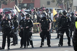 Photo for Why Is San Diego's Mayor Adding $19M To The Police Budget?