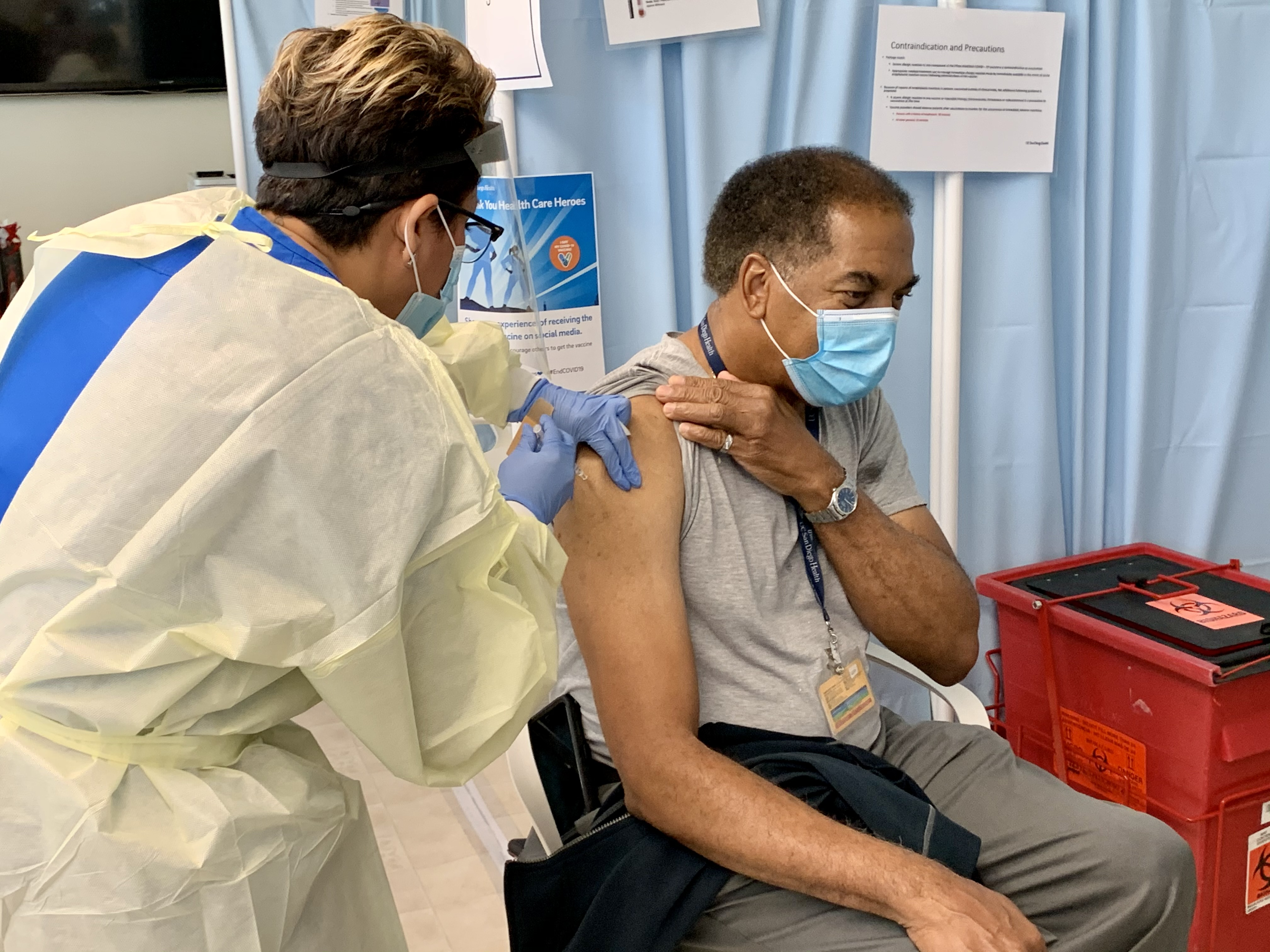 Seniors Struggle To Make Vaccination Appointments; County Works To Smooth Process