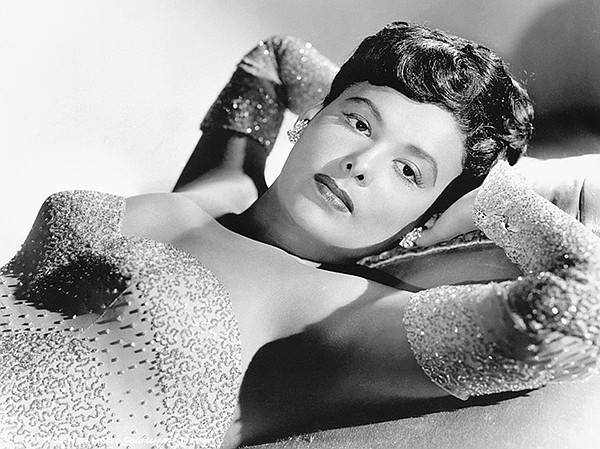 Lena Horne, prominent singer of jazz who is also an actre...