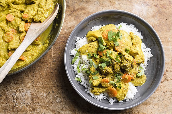 Vietnamese Chicken Curry, with bold lemongrass and ginger...