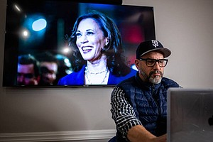 'Kamala Harris Is My Fairy Godmother': A VP Super Fan Says She Saved His Life