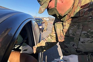 To Speed Up COVID-19 Vaccinations, Leaders Are Turning To The National Guard