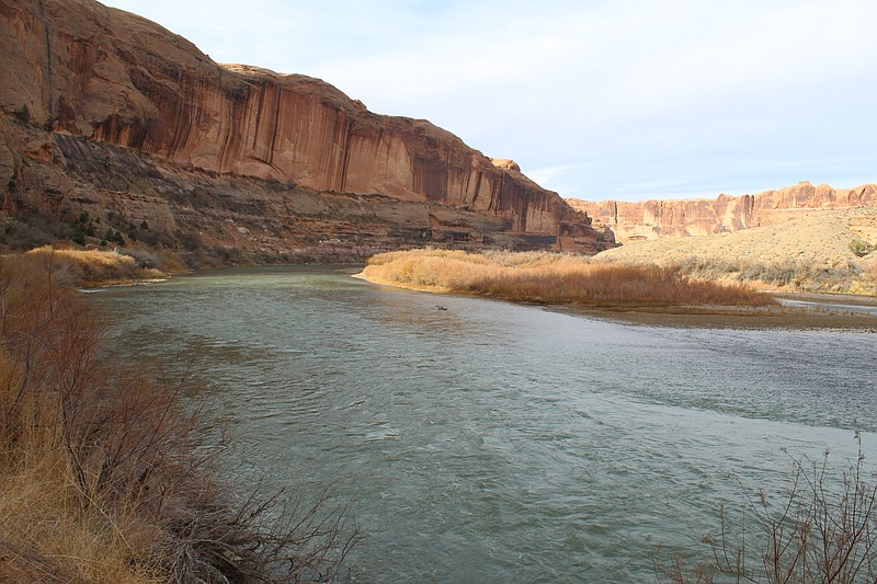 The Colorado River Basin continues to be sapped dry by increasing temperature...