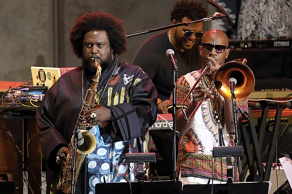 Kamasi Washington, featured IN CONCERT AT THE HOLLYWOOD B...