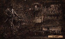Graphic featuring Nat Turner