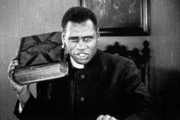 A 27-year-old Paul Robeson made his film debut in Oscar M...