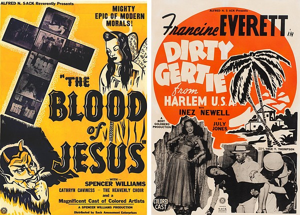Posters for the Spencer Williams directed films
