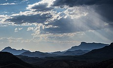 Christmas Mountains in Big Bend, Texas.