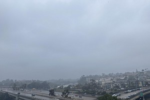 Photo for Storm System To Bring Light Rain, Snow And Gusty Winds To San Diego County