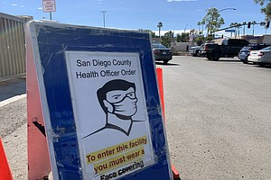 Photo for San Diego County Reports 891 COVID-19 Cases, 30 Deaths As Vaccine Shortage Hits
