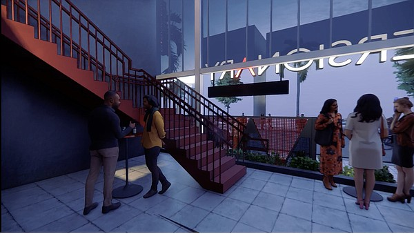 Part of Diversionary Theatre's building remodel will incl...