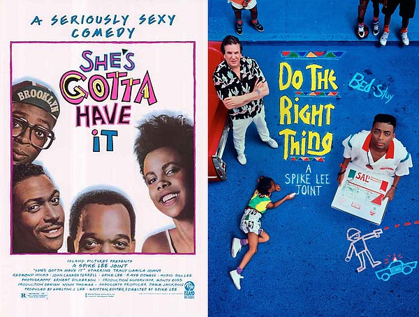 Spike Lee mad his film debut with