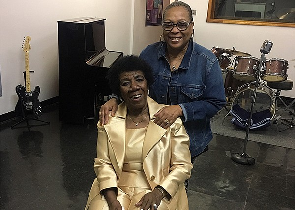 Chess Records soul music legend Mitty Collier with Produc...