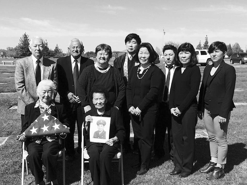 Generations of the Masumoto family gathered in Selma, CA in 2017 for a memori...