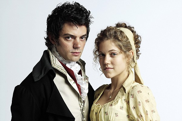 John Willoughby (Dominic Cooper) and Marianne Dashwood (C...