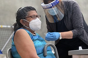 Photo for Vaccinations For Teachers, Police, Food And Farm Workers Can Begin Saturday I...