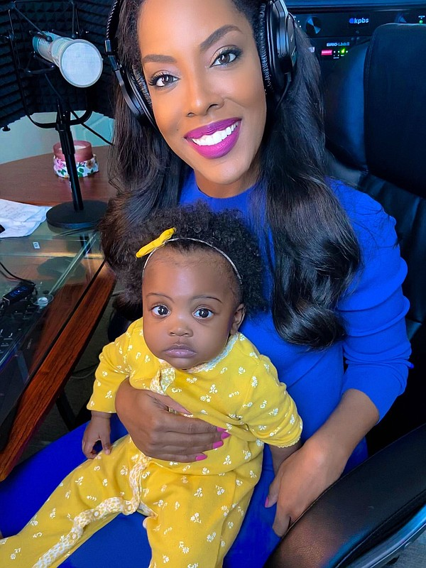 KPBS host Jade Hindmon and her 10-month-old daughter are ...