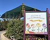 Entrance of the Carlsbad Flower Fields. March 1...